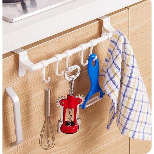Multipurpose Wall Hook Cabinet Door Kitchen Towel Hanger
