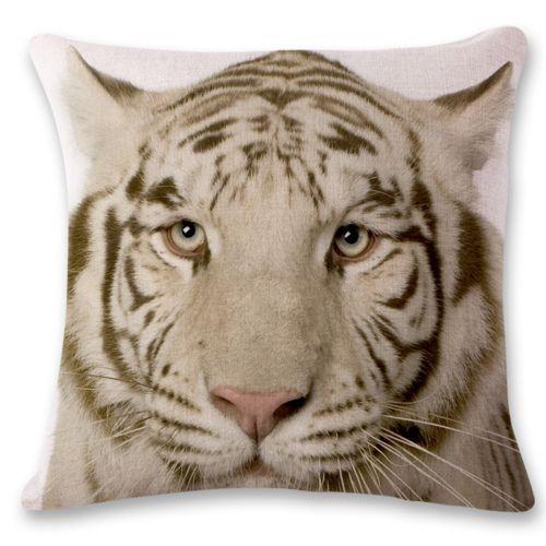 3D Tiger Lion Sofa Bed Home Decoration Festival Pillow Case Cushion Cover