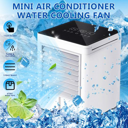 Portable 3Speed Air Conditioner Cooling Fan Touch Screen
