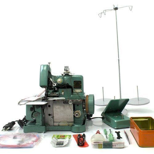 Two LionOVERLOCK WEAVING INDUSTRIAL SEWING MACHINE