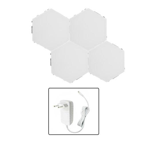 Innovative Hexagonal Shape DIY Wall Decorative Lamp Home Light For Bedroom Living Room Decoration 100V-240V