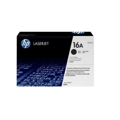 100% Genuine HP 16A Laserjet Toner Cartridge - Black