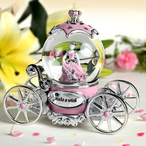 Lejia Princess Crystal Ball Music Box