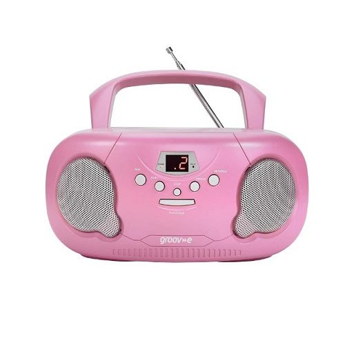 Groov E Boombox Portable CD Player With Radio