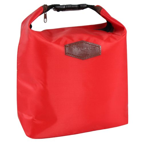 Unisex Buckle Insulation Package Waterproof Picnic Lunch Bag