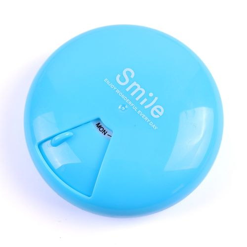 1Pcs Weekly Pill Box Travel Pill Case Dispenser Outdoor Mini Pill Box Health Products Jewelry Storage Box Pill Case