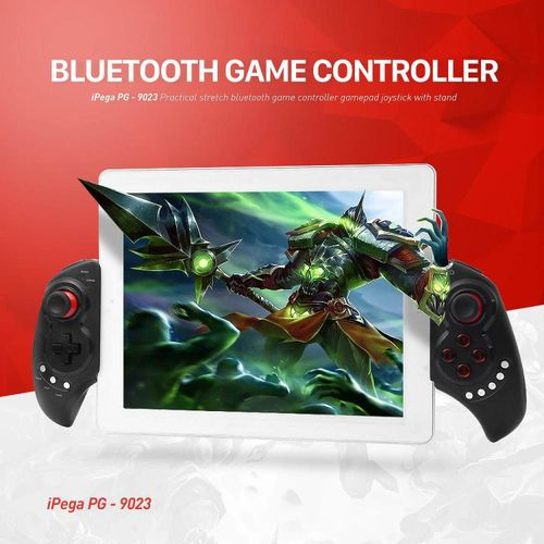 IPega PG-9023 Wireless Bluetooth Game Controller Gamepad Joystick With Stretch Bracket For IOS Android System JY-M