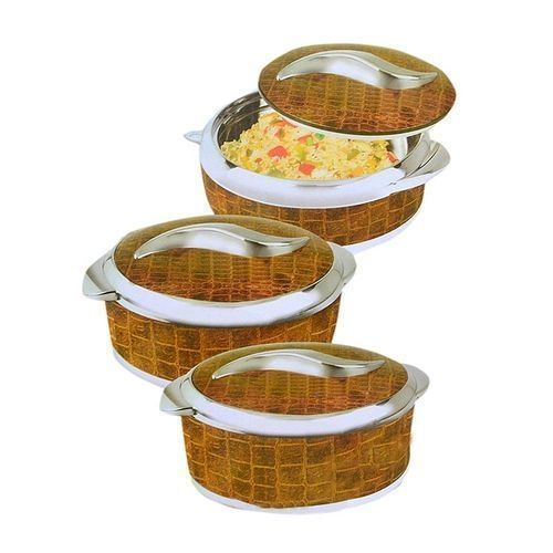 3 Pcs Sweet Insulated Serving Dish