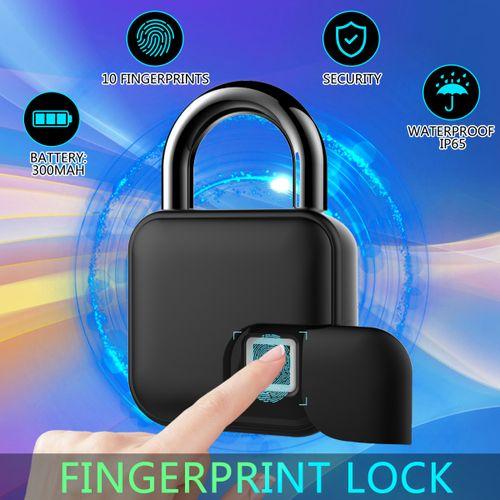 Smart Keyless Fingerprint Padlock Door/Car Luggage Case Security Lock