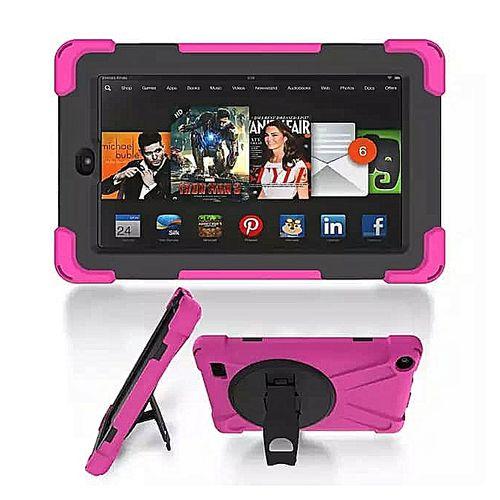Fire HD 8 Inches 32GB Storage 2GB RAM Educational Kids Tablet + Proof Case - Pink B