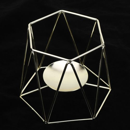 Nordic Style Iron Tealight Scented Candle Holders Decorative Tabletop Candlestick