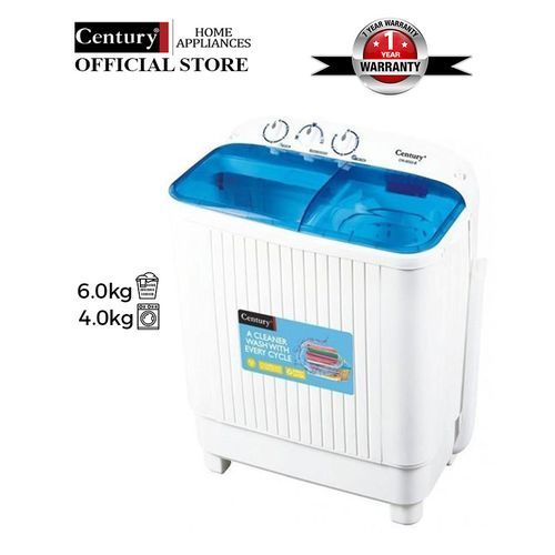 6kg Twin Tub Washing Machine - CW8522-B.- White