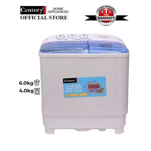 6kg Twin Tub Washing Machine - CW8522-B.- White