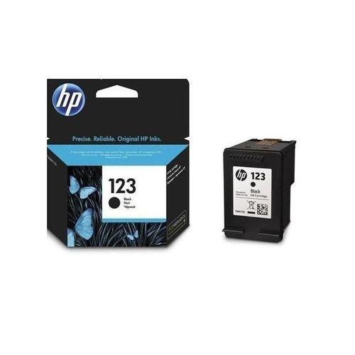 Hp Genuine 123 Black Ink Catridge