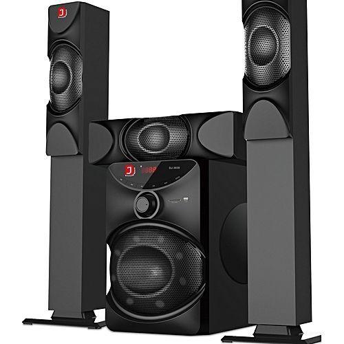 Heavy Duty Bluetooth Home Theater System Dj 3030 Djack