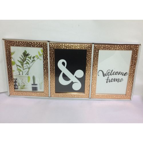 3in1 Rose Gold Picture Frame