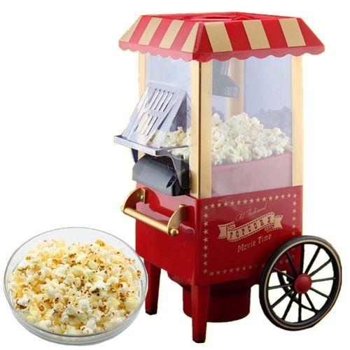Home Vintage Retro Electric Popcorn Maker Popper Countertop Machine