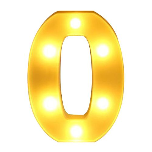 OR English Letter O Light For Various Parties Or Wedding Lig