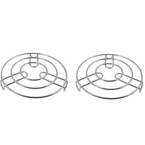 Stainless Steel Pot Stands/Holder Set Of 2Pcs