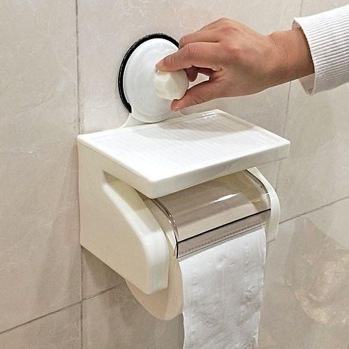 Tissue Paper Holder -WHITE.