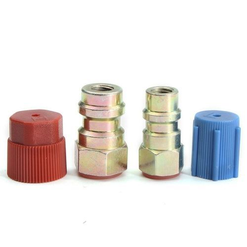 """AC FITTING PORT ADAPTERS,RETROFIT R12 To ACCEPT R134 3/16""""(HIGH) & 1/4""""(LOW)"""