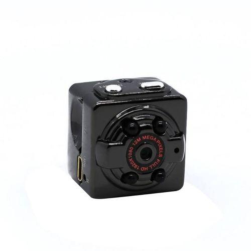 SQ8 Smart 1080p/720p HD Small Secret Micro Mini Camera Video Cam Night Vision Wireless Body DVR DV Tiny Minicamera Microchamber JUN(720p)(Bundle1)