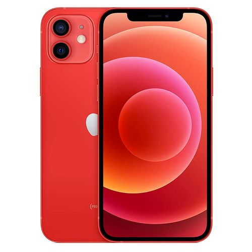 IPhone 12-6.1 Inches -(64GB +4gb Ram),IOS 14-Dual Camera (wide And Ultra Wide Camera) 5G - red