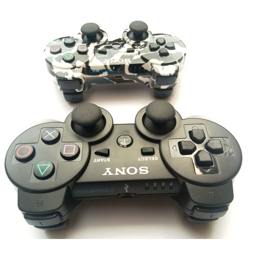 PS3 Wireless Pad - Camo And Black