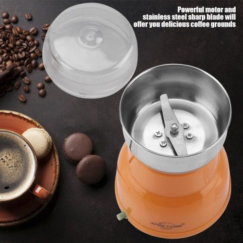 Electric Coffee Bean Grinder Household Nuts Grains Beans Herbs Spices Grinding 220V EU Plug