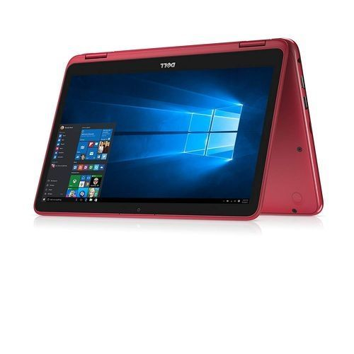 """Inspiron X360 CONVERTIBLE 2-IN-1 AMD A9-9420 500GB 4GB 11.6"""" WIN10 Webcam RED"""