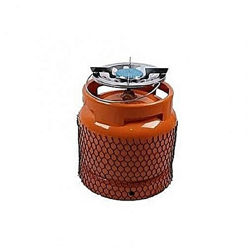 Generic 3kg Cylinder With Small Stainless Steel Burner