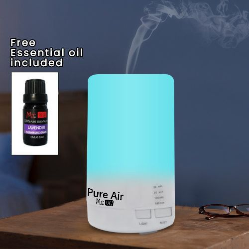 Ultrasonic Humidifier USB Charging 5 Color LED Night Light Aromatherapy
