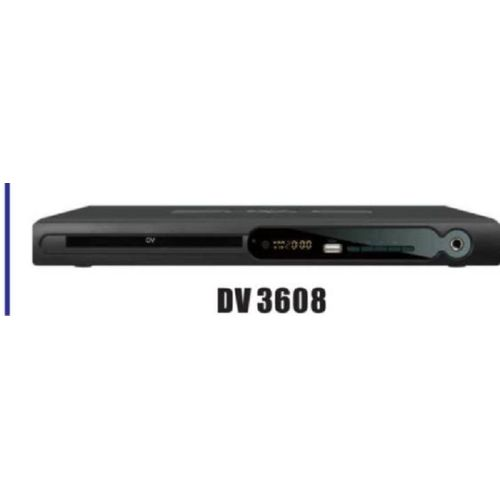 DVD Player DV3608 With USB-Black