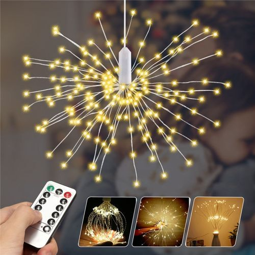 180LED Firework Wire Copper Fairy Strip String Lights Remote Control Christmas
