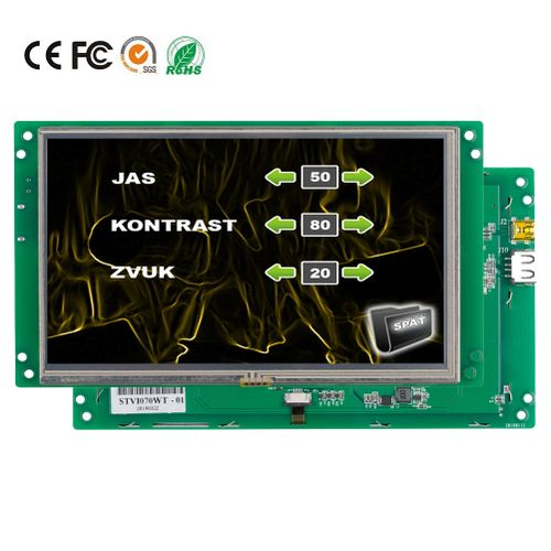 "7.0"" HMI Touch Screen TFT LCD Display Module"