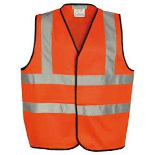 Construction Reflective Vest - Orange