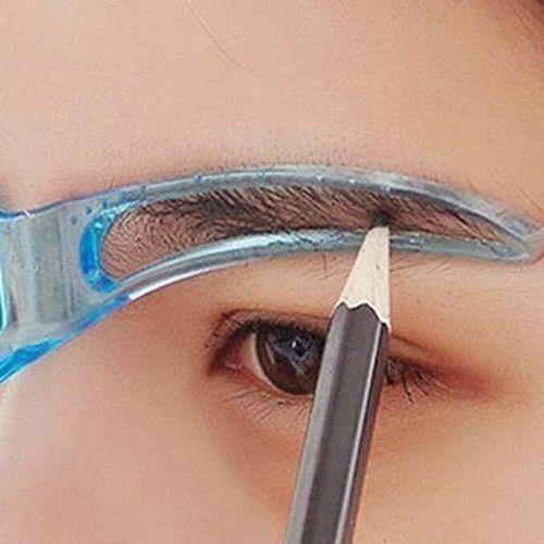 Eyebrow Template Stencil Grooming Shaping Helper DIY Tool Beauty Makeup DIY
