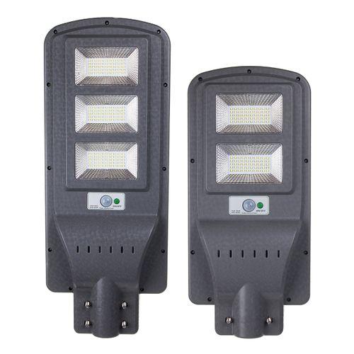 80W/120W Solar Street Light 7800K Wall Lamp PIR?Motion Sensor Outdoor Controller