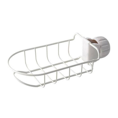 Kitchen Sink Holder Faucet Storage Rags Rack Drying Tap Faucet Drain Deluxe
