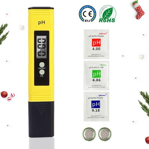 Digital PH Meter 0.01 PH Water Quality Test For Household Drinking Water Pool Hydroponics
