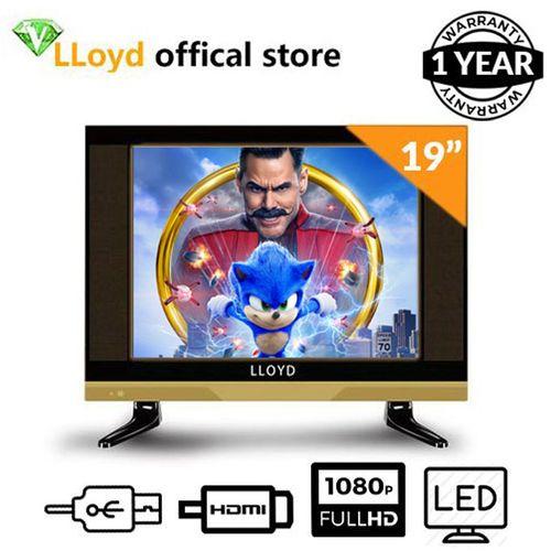 "19"" HD LED TV - Black + Free Wall Bracket"