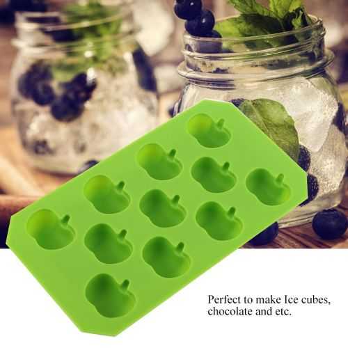 Fruit Mold Ice Cube Tray Freezer Mold Chocolate Mold Silicone Food Grade Large Easy Release Cute Great For Whiskey Tails Soups Baby Food Flexible
