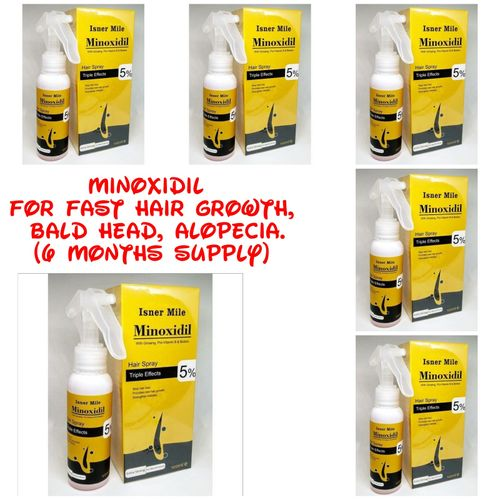 Minoxidil 5% With Biotin And Ginseng (6 Months Supply)