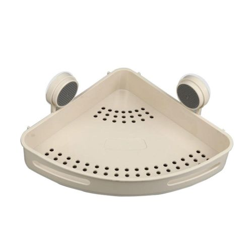 Bathroom Suction Cup Triangle Shelf Bathroom Corner Free Punching Drain Storage Rack
