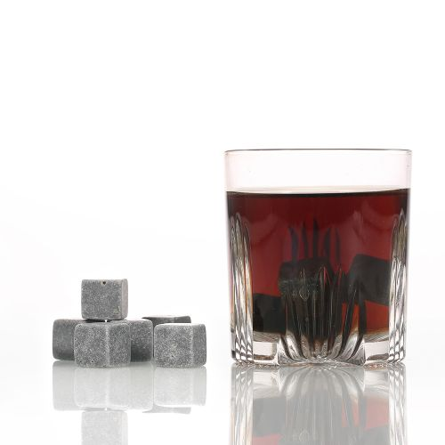 9pcs Whisky Ice Stones Drinks Cooler Cubes Beer Rocks Granit