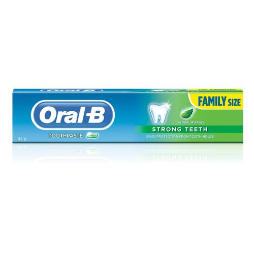 Pro Health Strong Teeth Herbal Mint Gel Toothpaste - 140g (Pack Of 3)