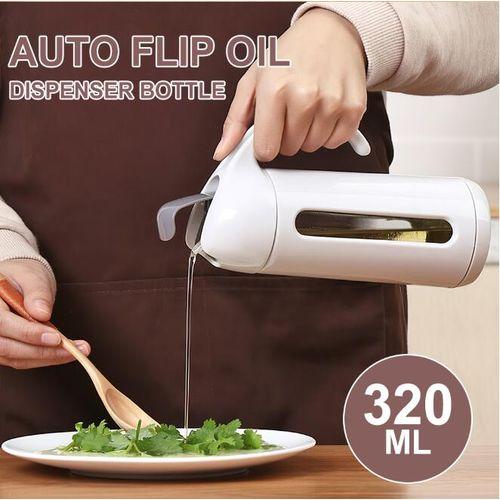 Kitchen Cooking Auto Flip Oil Dispenser Bottle Leakproof Condiment