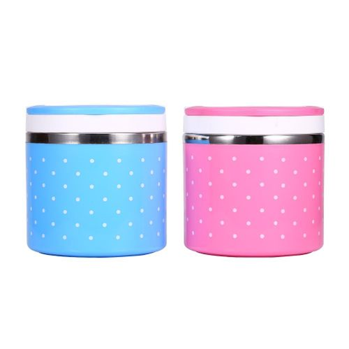 1-3 Layer Stainless Steel Insulation Thermo Thermal Lunch Box Food Container Hot