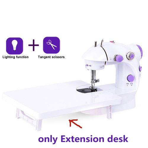 Mini Electric Portable Sewing Machine Extension Desk