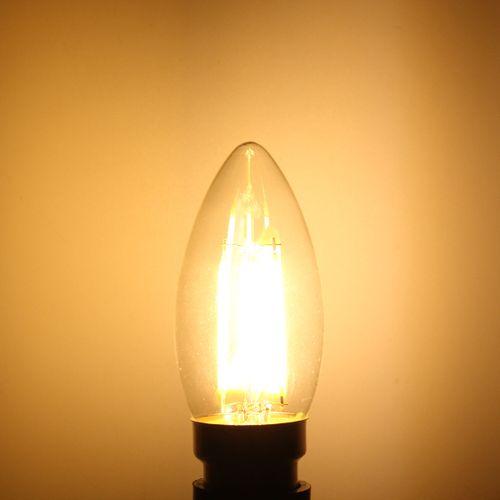 B22 4W LED Edison Retro Vintage Filament Globle Light Lamp Bulb 220V
